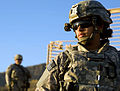 Defense.gov News Photo 101107-F-2729L-150 - U.S. Air Force Senior Airman Danielle Robles from the Paktia Provincial Reconstruction Team provides security during an engineering mission in.jpg