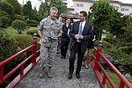 Defense.gov News Photo 120721-D-TT977-202 - Deputy Secretary of Defense Ashton B. Carter walks with Air Force Lt. Gen. Sam Angelella commander U.S. Forces Japan at Yokota Air Base Japan on.jpg