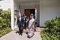 Defense Secretary Jim Mattis meets with the Indian Defence Minister Nirmala Sitharaman in Clark, Philippines (26147045989).jpg