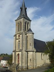 The church of Saint Sulpice