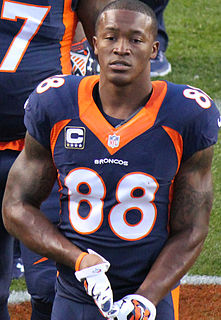 Demaryius Thomas American football wide receiver