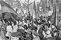 Demonstratie tegen Spaanse regiem in Amsterdam, demonstranten bij Spaanse consu…, Bestanddeelnr 925-4831.jpg