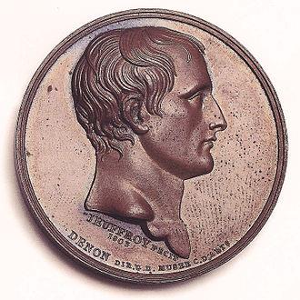 Romain-Vincent Jeuffroy - 1803 medal of Napoleon