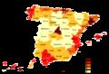 Densités de population en Espagne (2005).png