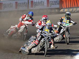 Ekstraliga (speedway) - Image: Derby Pomorza 2009 (Bydgoszcz)2