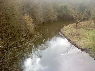 Derwent Park (Rowlands Gill) - A view of River Derwent from the park