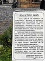 Descriptive board, temples of Baijnath, Uttarakhand, India.jpg