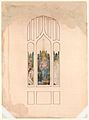 Design for a window, Madonna and child MET DP324606.jpg
