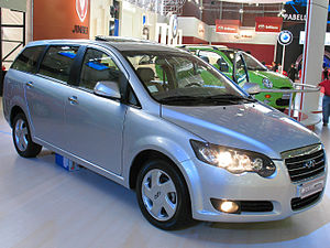 Chery - Chery V5, produced since 2008