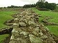 Detail from roman fort of Vindolanda 11.jpg