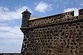 Detalle del torreón izquierdo del Museo Internacional de Arte Contemporáneo Castillo de San José.jpg
