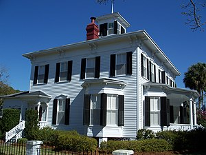 National Register of Historic Places listings in Madison County, Florida - Image: Dial Goza House Madison 01