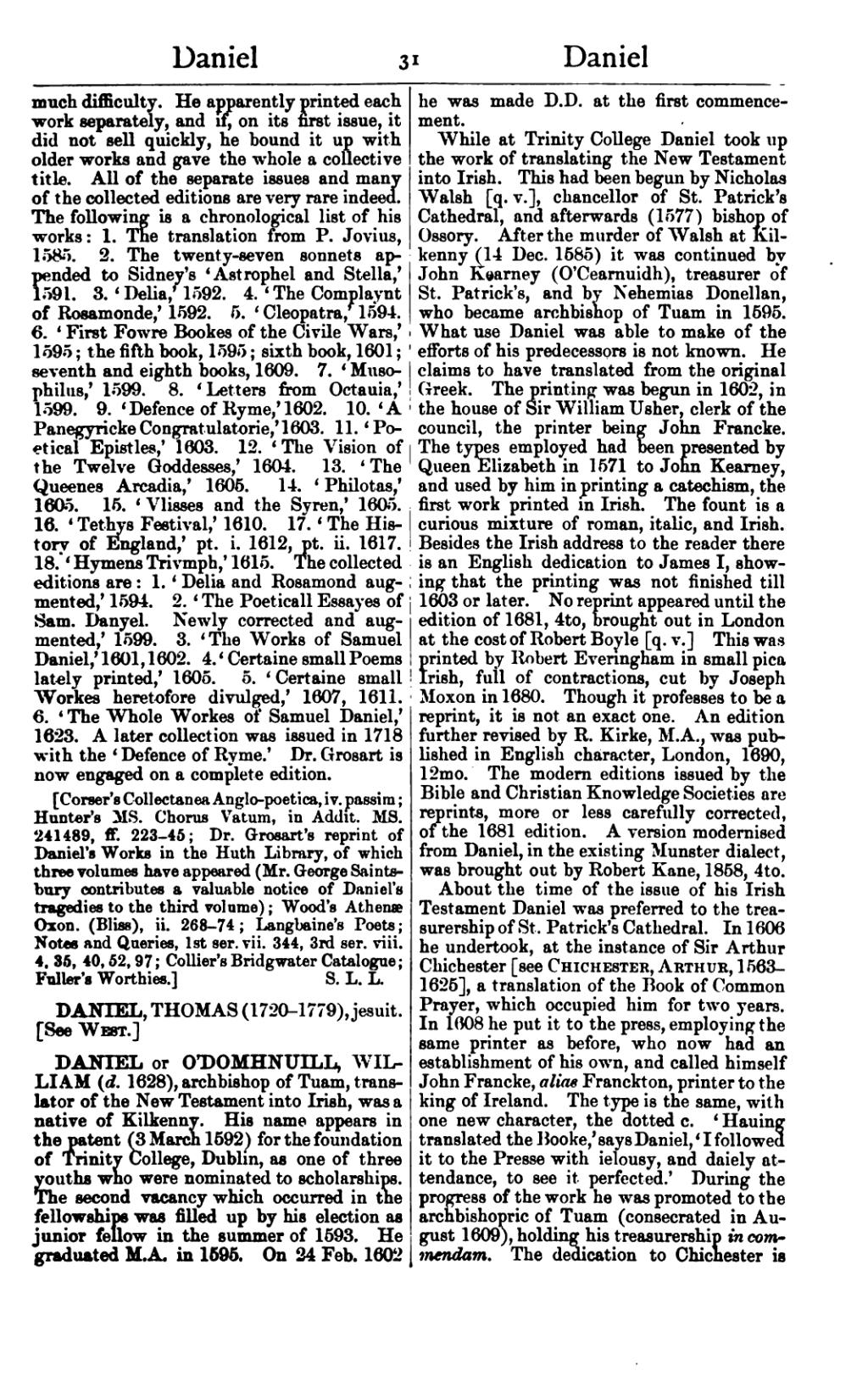 dictionary of national biography ireland