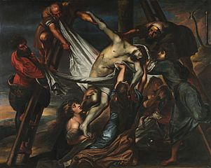 The Descent from the Cross 1600–1602