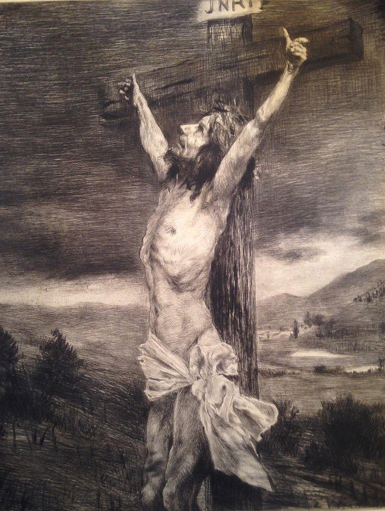 File Die Kreuzigung Jesu Jpeg Wikimedia Commons