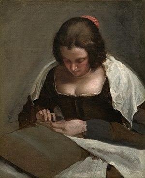 The Needlewoman - Image: Diego Velázquez 023