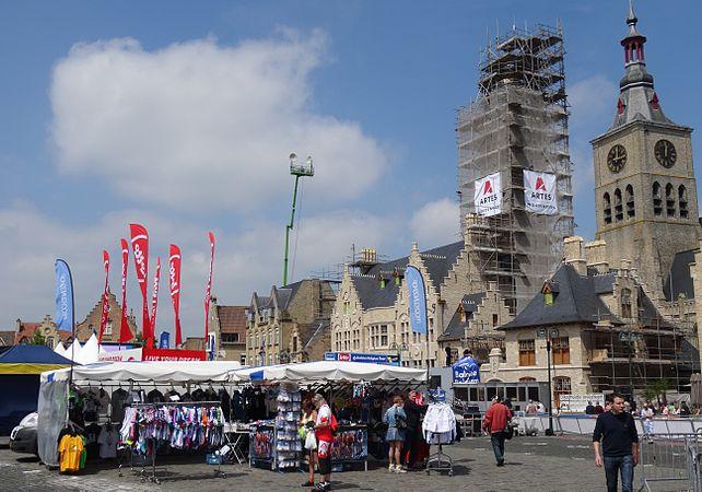 Diksmuide - Ronde van België, etappe 3, individuele tijdrit, 30 mei 2014 (A139).JPG