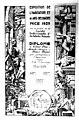 Diplôme de Grand Prix de l'Exposition de l'Habitation et des Arts Décoratifs de Nice en 1929 décerné à Tapis France Orient.jpg