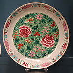 Dish for Indian or Asian market, Chinese porcelain, 1790-1830 - Winterthur Museum - DSC01501.JPG