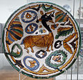 Dish with gothic beast Seville V&A 300-1893.jpg