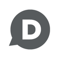 Disqus d icon official - gray on white background.png