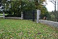 Disused entrance gates near Great Longstone - geograph.org.uk - 586934.jpg