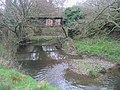 Disused railway bridge and River Hooke - geograph.org.uk - 333818.jpg