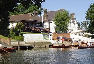 Dittons Skiff and Punting Club - Image: Dittons Skiff and Punting Club