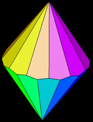 Dodecagonal trapezohedron - Dodecagonal trapezohedron