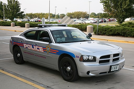 Dodge Charger (LX) UIUC Police car