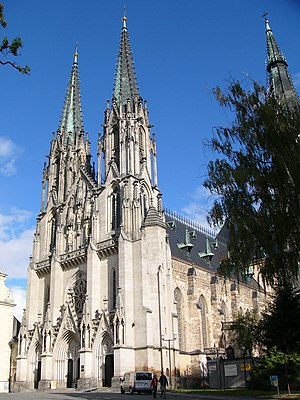 Roman Catholic Archdiocese of Olomouc - Saint Wenceslas Cathedral