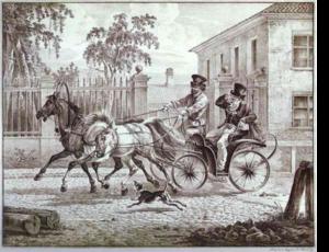 Droshky - Image: Dorozka Aleksander Orłowski 1
