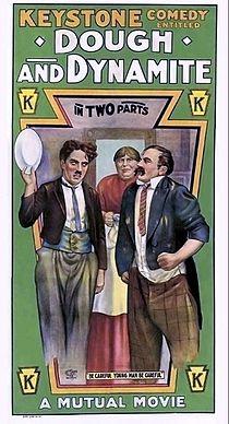 Dough and Dynamite 1914 Poster de la película.jpg