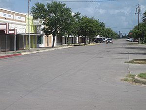 Crystal City, Texas - A view of downtown Crystal City