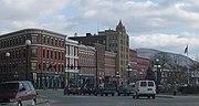 Downtown Rutland, Vermont