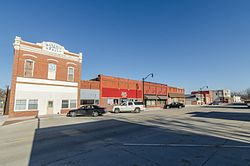 Downtown Shelby, Iowa