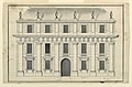 Drawing, Project for the elevation of a town mansion, ca. 1750–75 (CH 18308769).jpg