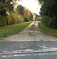 Driveway to Hill House from the A423 - geograph.org.uk - 1553543.jpg