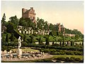 Drummond Castle from S.W. (i.e., Southwest), Scotland-LCCN2001705974.jpg