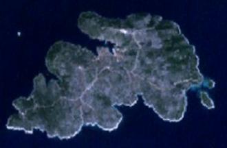 Drvenik Veli - Satellite image of Drvenik Veli
