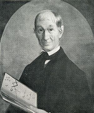Dudley Leavitt (publisher) - Dudley Leavitt, 1849. New Hampshire Historical Society