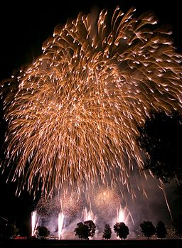 Duesseldorf Firework 2007