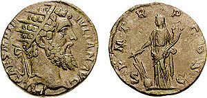 Dupondius - O: Didius Julianus wearing radiate crown