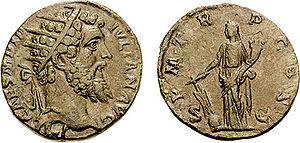 Dupondius - O: Didius Julianus wearing radiate crown