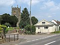 Durston Village Hall and St John's Church - geograph.org.uk - 1335903.jpg