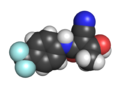 E-Teriflunomide space fill.png