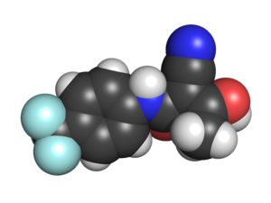 English: Space filling model of the E isomer of