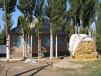 Dungan people - In Milyanfan village, Chuy Province of Kyrgyzstan