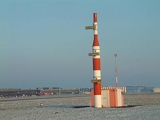 Aeronautical radionavigation service -  ILS-antenna on Hannover Airport