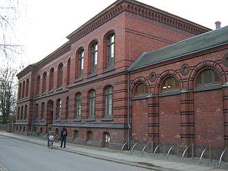 "University of Greifswald Faculty of Arts - lecture hall (""auditorium maximum"")"